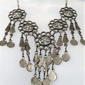Vintage Hand Crafted Steampunk Necklace